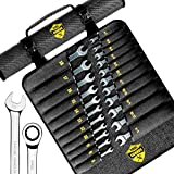 22pcs Ratcheting wrench set - Ratchet Wrench Set