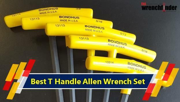 T Handle Allen Wrench Set
